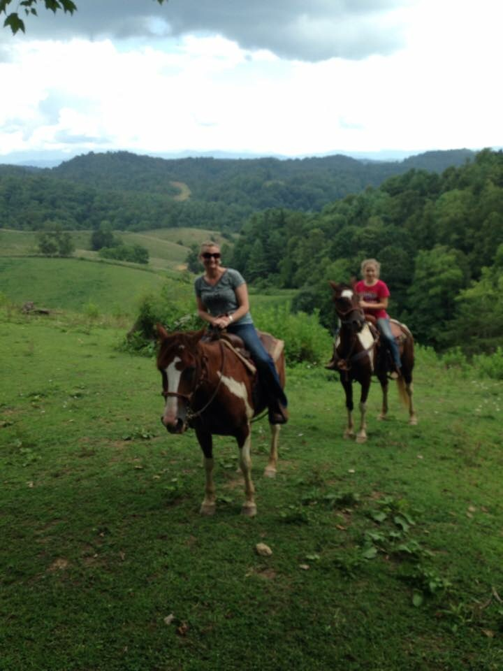 Families love to trail ride